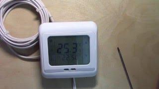 терморегулятор для теплого пола, обзор и настройка