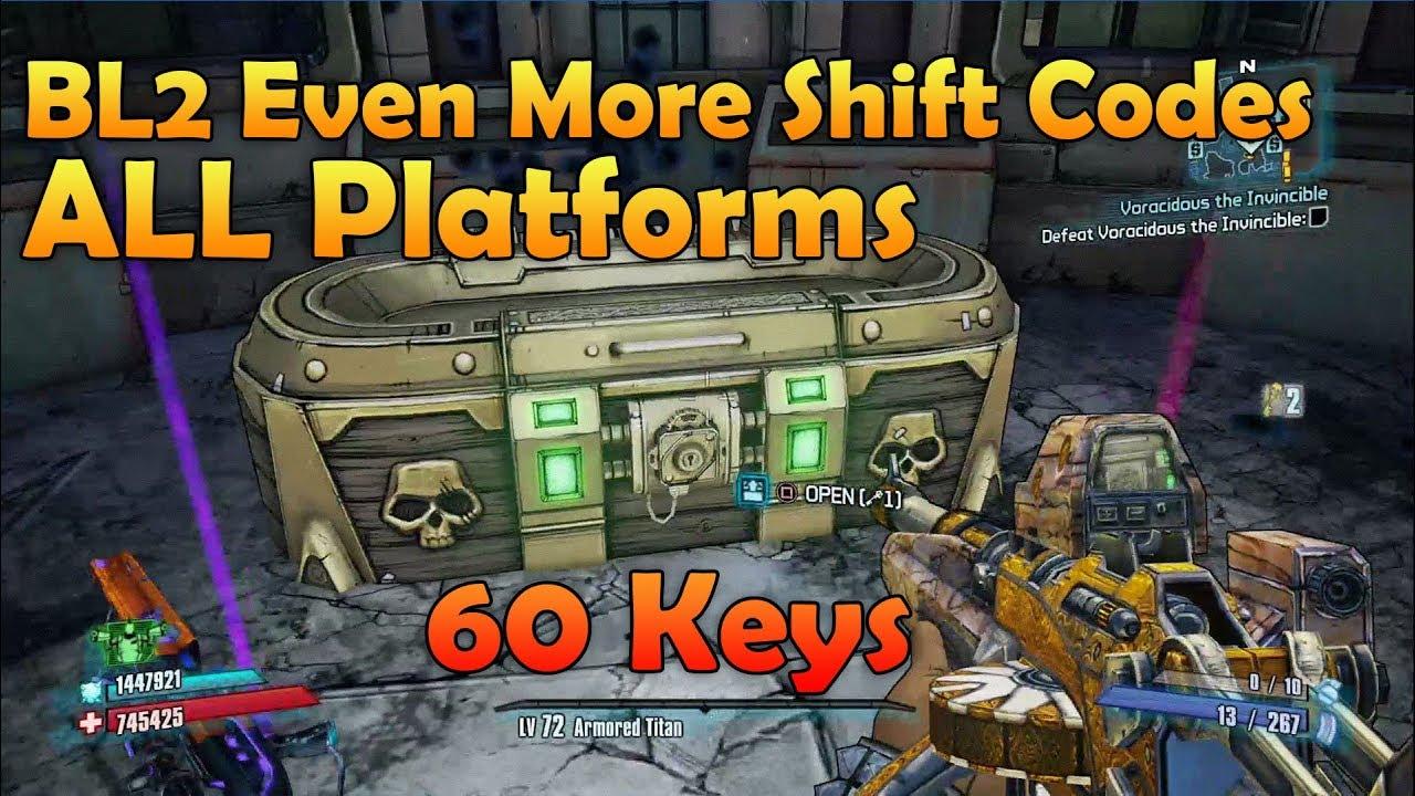 🖐 Borderlands 2 shift codes to unlock Golden Keys (May 2019