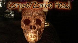 Zombie/Corpse Head Tutorial - Prop Tutorial