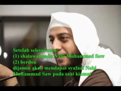 Syekh Ali : Sholawat setelah azan jaminan dapat SYAFA'AT NABI