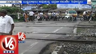 Railway level crossing gates in India - Special story