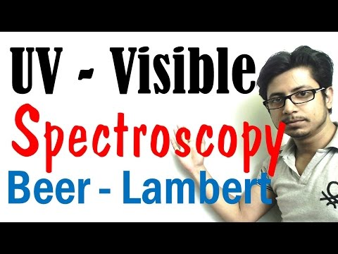 UV Vis spectroscopy explained lecture