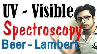UV Vis spectroscopy explained lecture