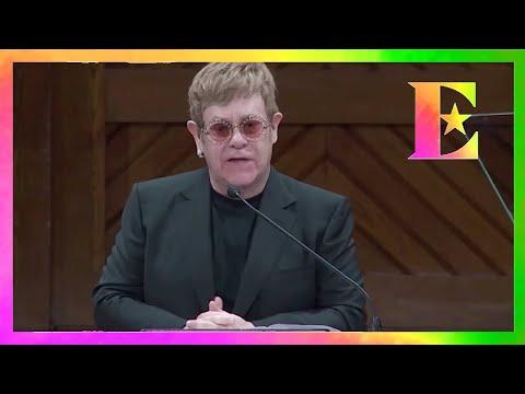 Elton John - Humanitarian Award Speech