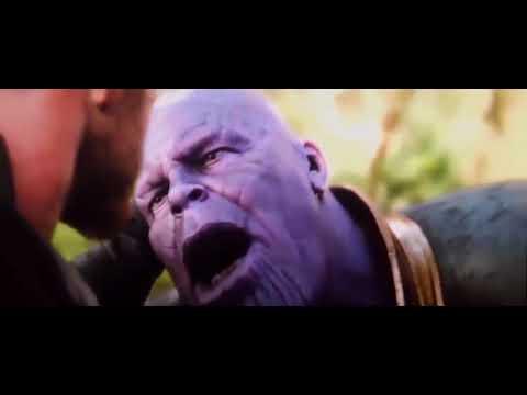 Thanos Disintegrates Ultraman Dyna