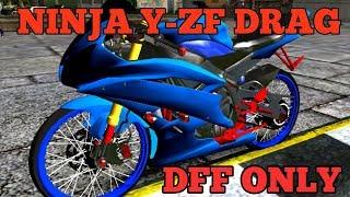 GTA SA Android : Ninja Y-ZF Drag (DFF Only) by Fakih Gaming