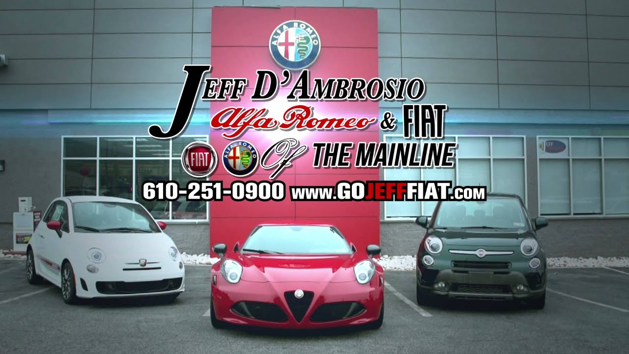 Alfa Romeo and Fiat of the Main Line - YouTube