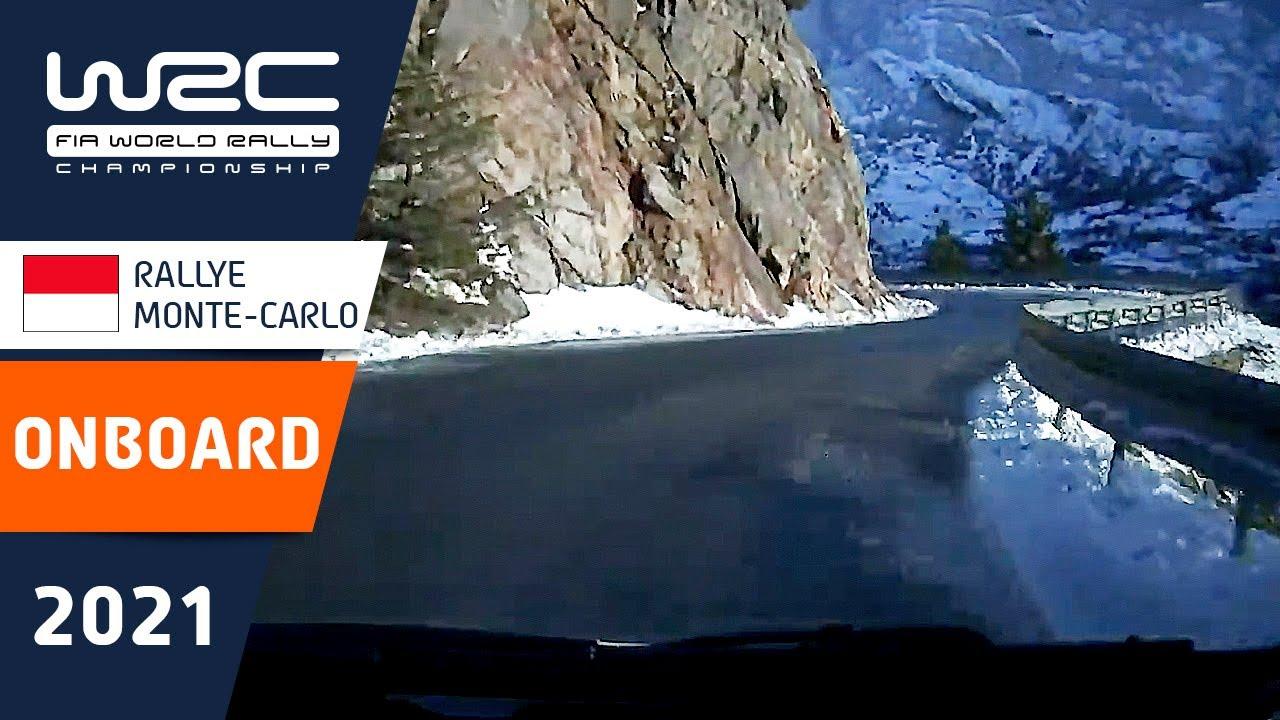 WRC - Rallye Monte-Carlo 2021: ONBOARD Ogier SS10