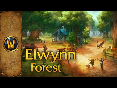 World of Warcraft - Ambience - Elwynn Forest (With Music)