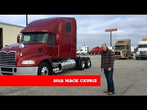 2012 Mack CXU613 - YouTube