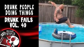 Funniest Drunk Fails Vol. 49 | Drunk People Doing Things