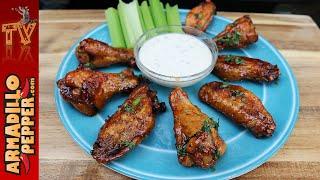 How to Make Crispy Wings on the Grill & Honey Sriracha Recipe