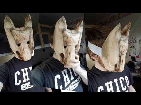 How to Make: a Wooden Wolf Mask (Hold the Dark inspired)