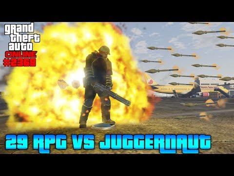 29 RPG vs Juggernaut #2368 GTA 5 ONLINE YU91