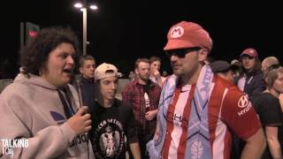 Fan Reactions | Melbourne City 2 VS Melbourne Victory 0