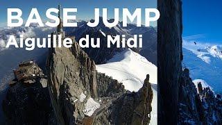 Aiguille du Midi Base Jump Wingsuit Valery Rozov Chamonix Mont-Blanc massif - 10054
