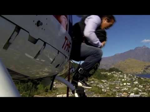 HeliBungy over Rugby 7s by Silverfox Productions