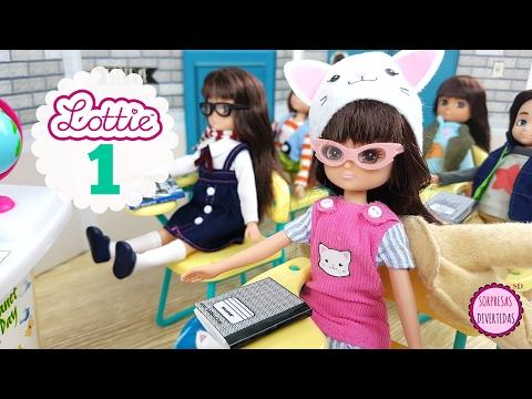 #1 LOTTIE Aventuras en Branksea - Elige la primera aventura - Historias con muñecas en español
