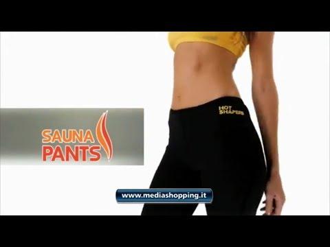 nuovo concetto 3cd00 3c30f Pantaloncini Sauna Pants | MEDIASHOPPING.IT - YouTube