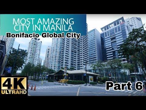 【4K】Walking Around BGC – Bonifacio Global City, Taguig Part 6
