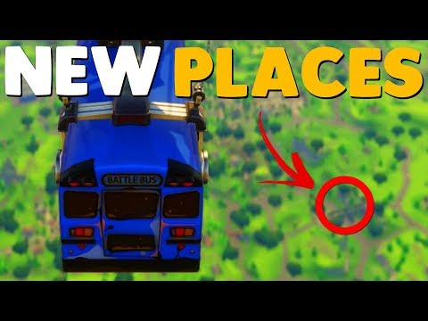 NEW MAP LOCATIONS / PATCH NOTES   Fortnite Battle Royale
