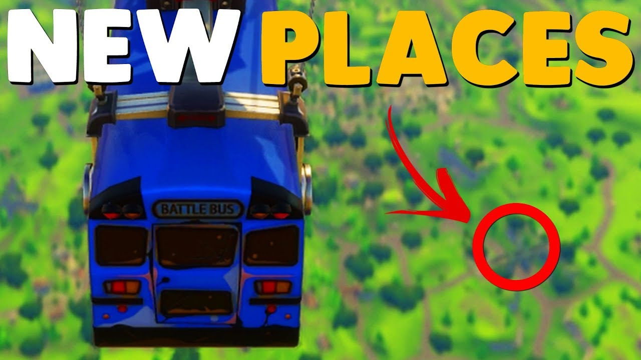 New Map Locations Patch Notes Fortnite Battle Royale Youtube
