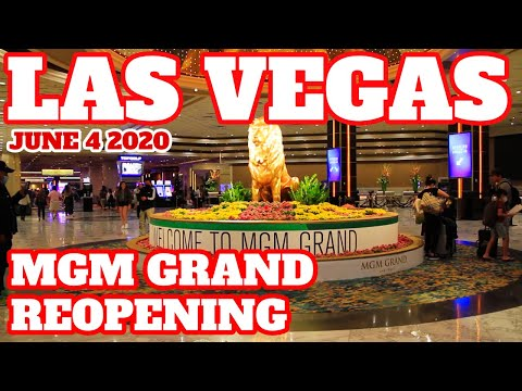 MGM Grand in Las Vegas Reopens Walk Thru | Let's Do This!