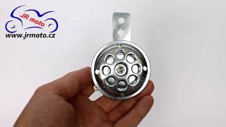 Klakson SMALL, Ø 65 mm, 6 V / 100 dB, stříbrný, HS-286501
