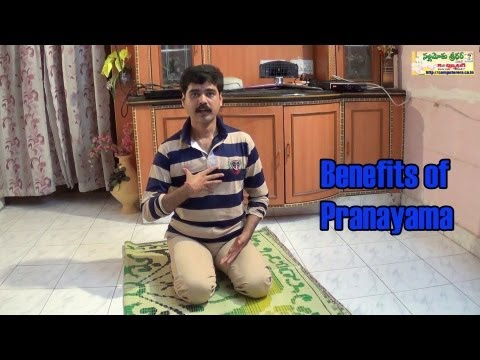 Benefits of Pranayama - Yoga Class 2 Telugu