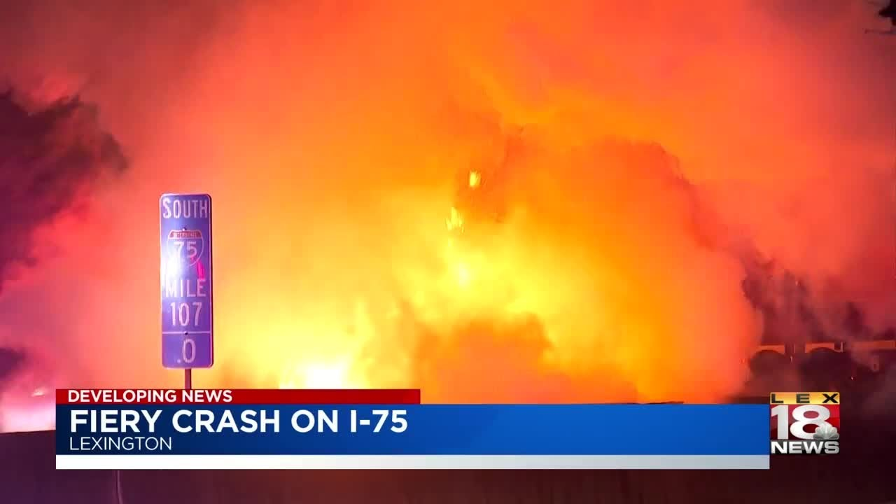 UPDATE: Six Killed In Fiery Wrong-Way Crash On I-75