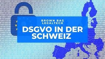 DSGVO in der Schweiz mit Noëmi Schöni
