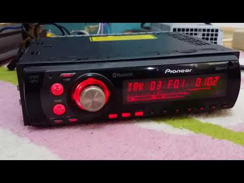 Pıoneer Deh-p55Bt Bluetooth lu cd mp3 çalar