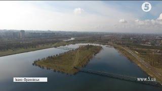 Франківські активісти взялися самотужки чистити  Німецьке озеро