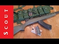 SKS Reloading Options w/ Stripper Clips and Bandoliers - Scout Tactical