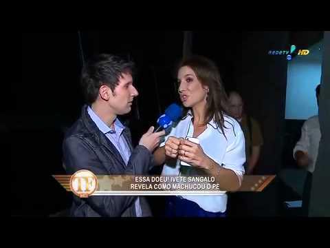 TV Fama: Ivete Sangalo 'Se tivesse namorado com a Xuxa, eu teria falado'
