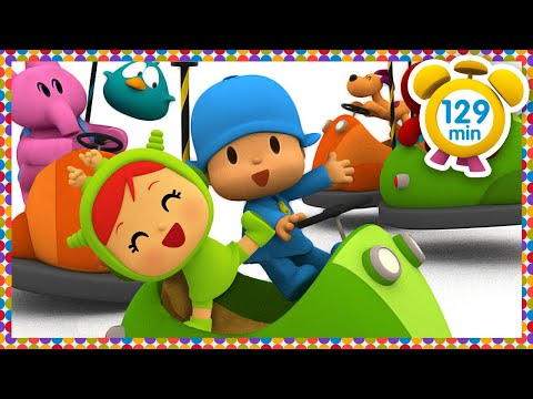 🎡 POCOYO in ENGLISH - The Amusement Park [ 129 min ]   Full Episodes   VIDEOS and CARTOONS FOR KIDS