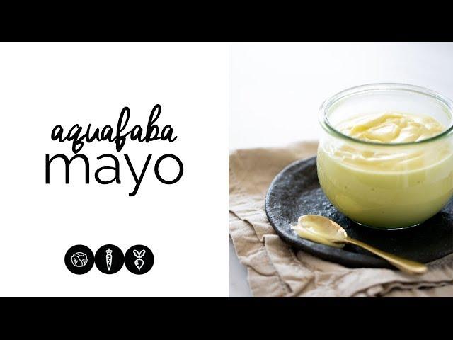 Aquafaba Mayo