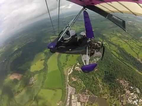 Microlight GoPro 18th birthday flight