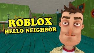 Hello Neighbor Chapter 1 | Roblox Hello Neighbor Map