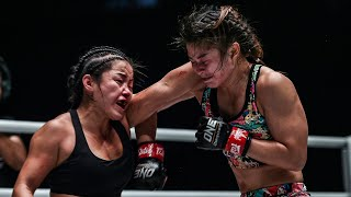 5 Minutes Of Stamp Fairtex THROWING DOWN With Bi Nguyen