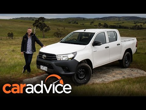 2016 Toyota HiLux Workmate 4X4 Review | CarAdvice