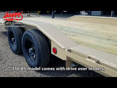 PJ B5 Model Buggy Hauler Walk-Around By Happy Trailer Sales
