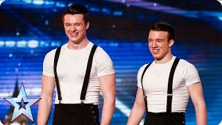 The Togni Brothers leave the Judges head over heels  | Week 1 Auditions | Britain's Got Talent 2016