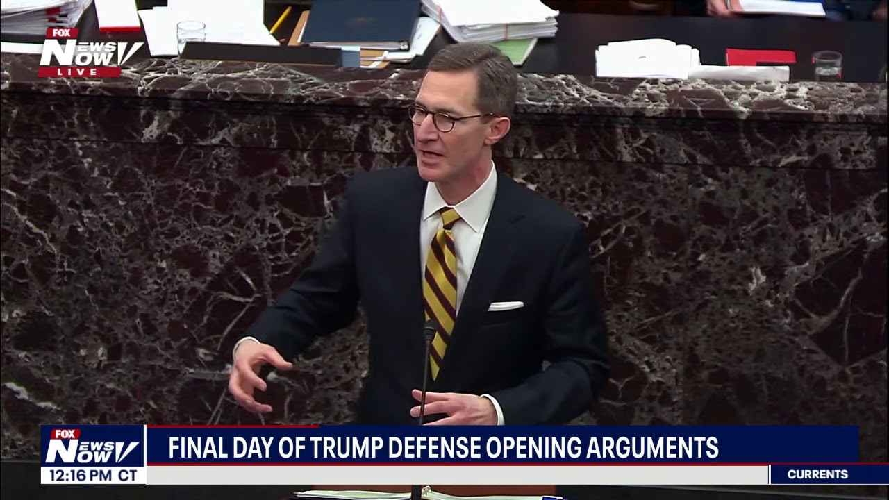 FULL DAY 7: President Trump Defense Team Wraps Up Arguments