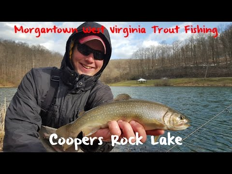 Trout Fishing West Virginia's Coopers Rock Lake