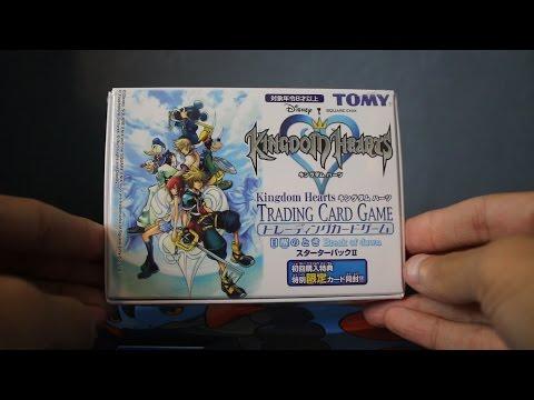 OPENING RARE JAPANESE KINGDOM HEARTS CARDS!