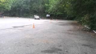2012.09.08 - HONDA Civic 5D Дима - 2 - Слалом adrenalinetime.info