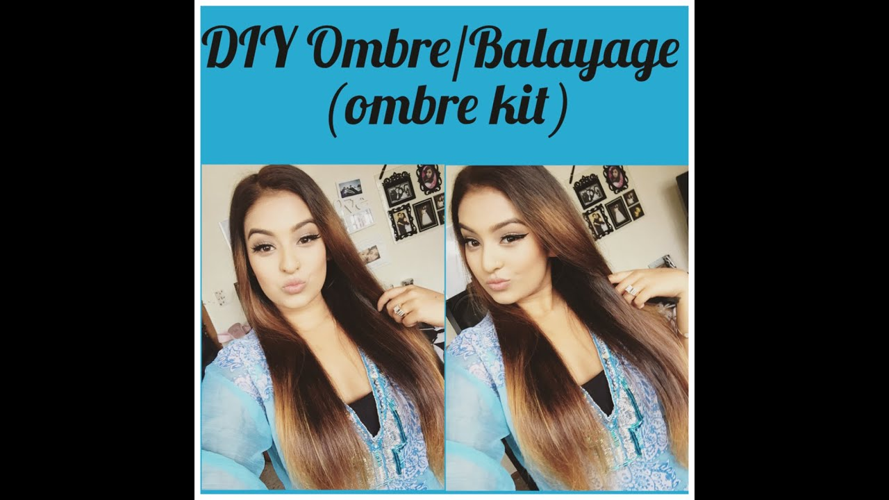 DIY Ombre/ Balayage (Loreal Ombre Kit)