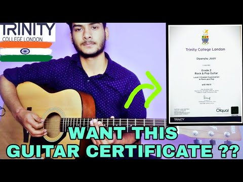 How To Become Certified Musician In INDIA | Trinity College London