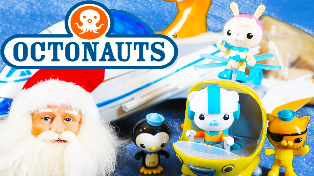 Octonauts Christmas Special - Santa Rescue - Full Episodes ...